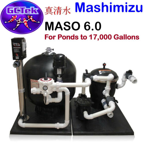 Gc Tek Mashimizu 6.0 Alphaone System For Ponds To 17,000 Gallons 300 Fish Load