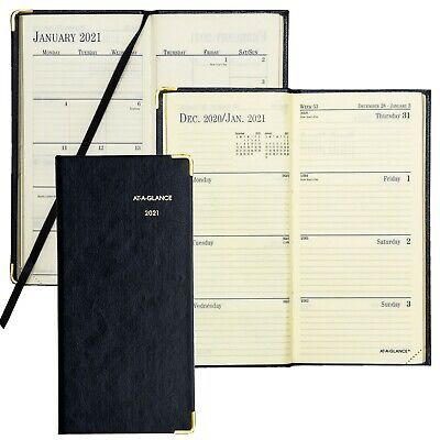 2021 At-a-glance 70-1110 Fine Diary Weekly Planner 3-18 X 6-58