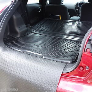 nissan juke 14 haut bas coffre doublure de tapis chien protection pare chocs ebay. Black Bedroom Furniture Sets. Home Design Ideas