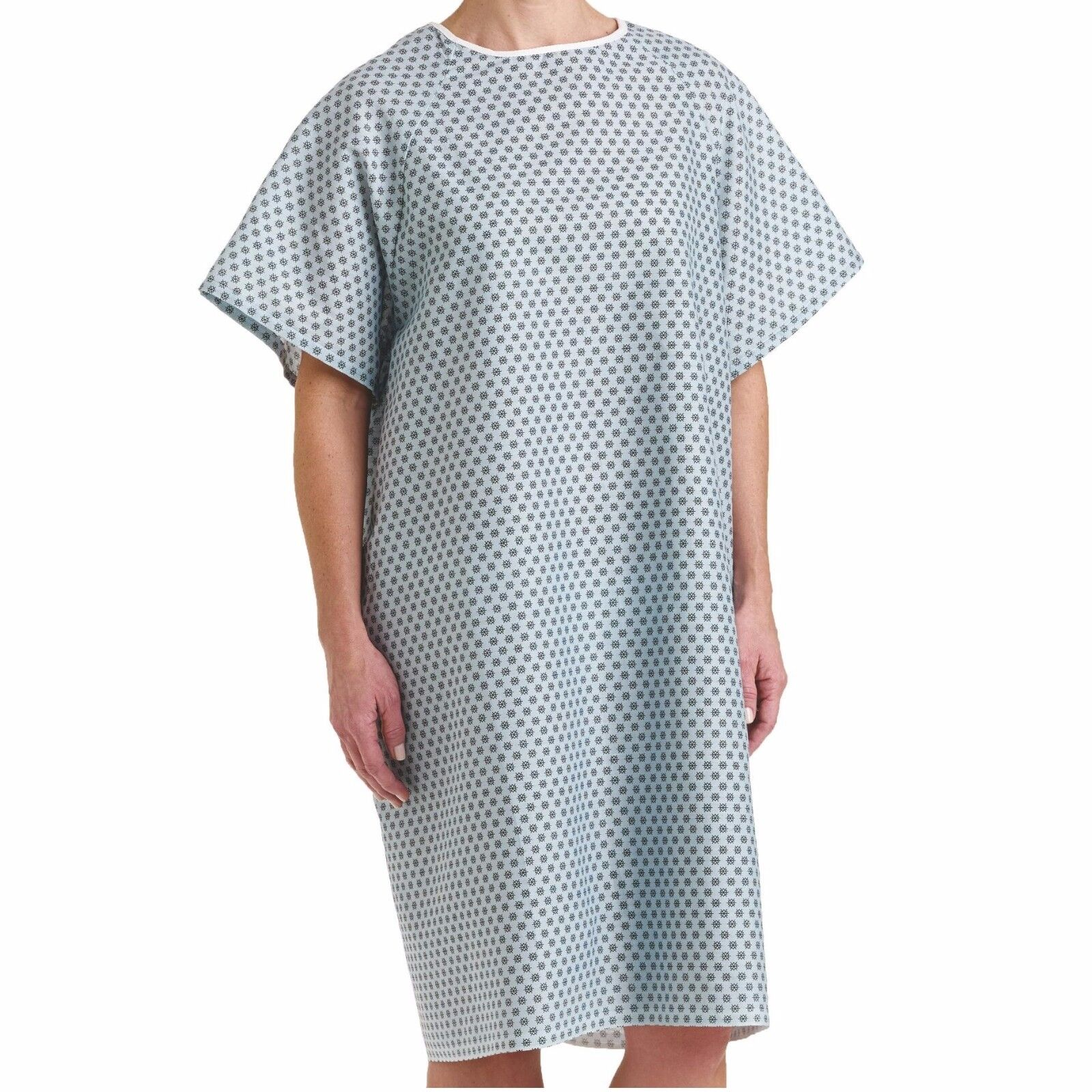 24 NEW HOSPITAL PATIENT GOWN MEDICAL EXAM GOWNS ECONOMY HOSPITAL ...