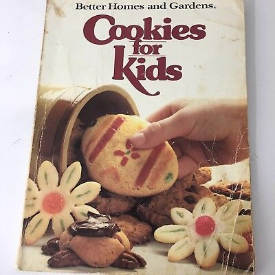 Cookies for Kids Better Homes and Gardens Cookbook Soft Cover 1983