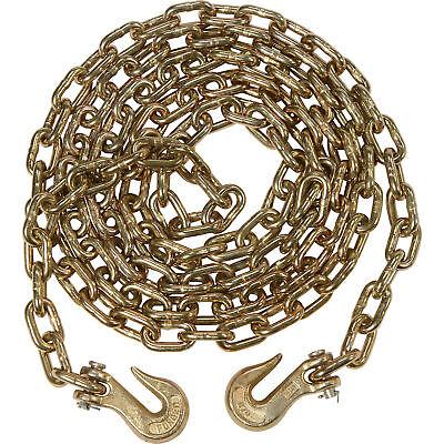 4 Pack 516 X 20 G70 Tow Chain Binder Tie Down Flatbed Truck Trailer Chain