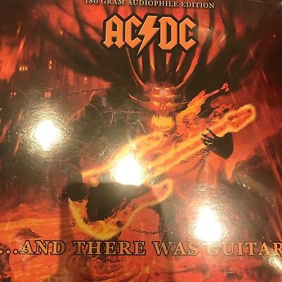 AC/DC 'AND THERE WAS GUITAR' 180gsm AUDIOPHILE VINYL LP NEW & SEALED