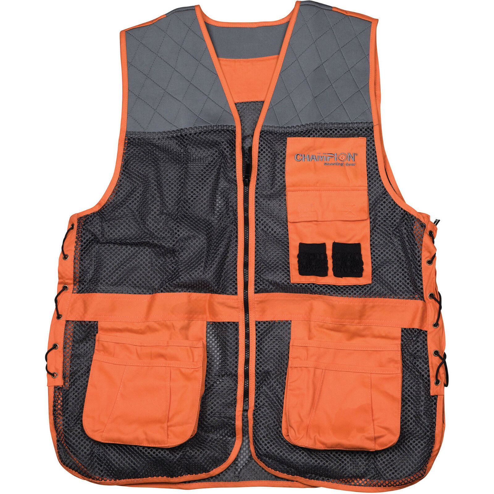Champion skeet trap shooting vest m l 99855 ebay for Walmart fishing shirts