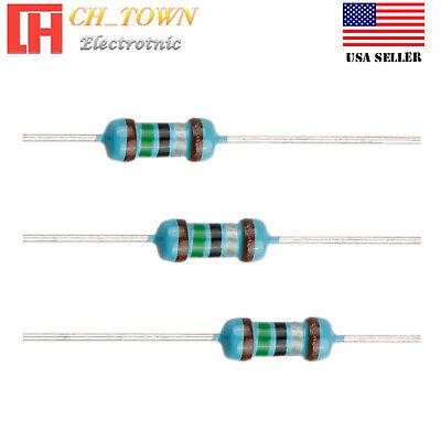100pcs 15 Ohm Resistor Metal Film Resistors 1 Tolerance