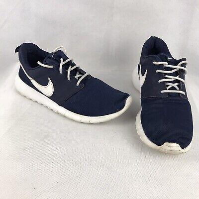 Nike Roshe One - Size UK 4.5 Womens Girls - 599728-416 - Blue White Trainers