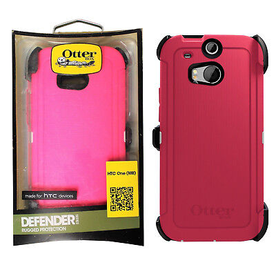 OtterBox Defender Series Shock Absorbing Case With Holster for HTC One