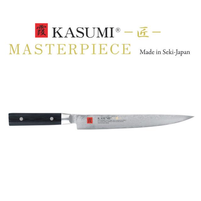 Kasumi Masterpiece Tranchiermesser 24cm Damast MP09 - BESTSELLER