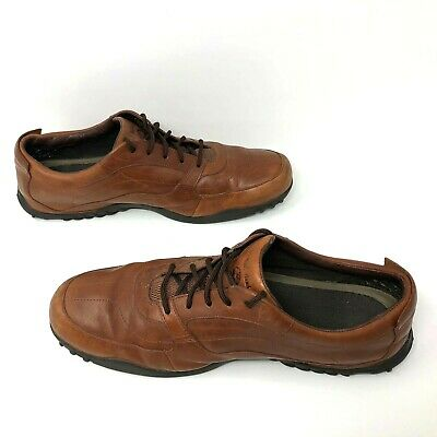 Timberland US 13M Men Brown Martlar Toe Lace Up Leather Oxford Shoes 90570