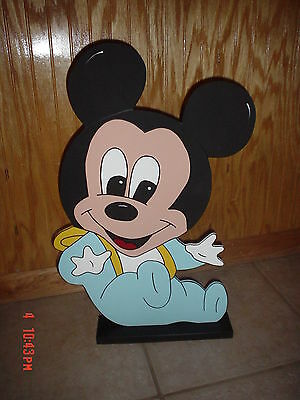 Baby Mickey Mouse stand up birthday baby shower party decorations - Baby Mickey Party Decorations