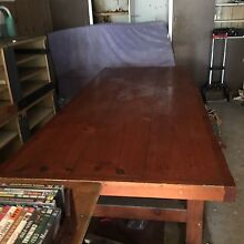 Table solid pine Milperra Bankstown Area Preview