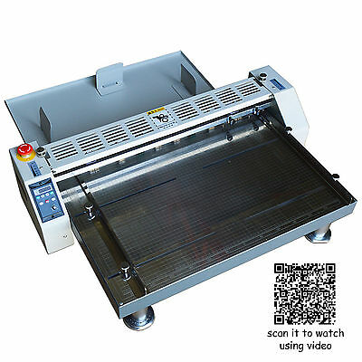 26 660mm Electric Creaser Scorer Perforator Paper Creasing Machine 110v Crease