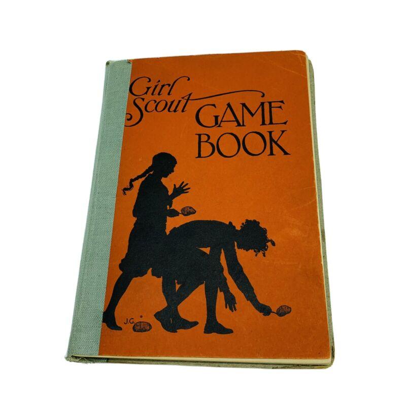 Vintage Girl Scout Game Book November 1937 Edition