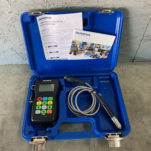Olympus 27MG Ultrasonic Thickness Gage Kit With Probe Panametrics Krautkramer UT