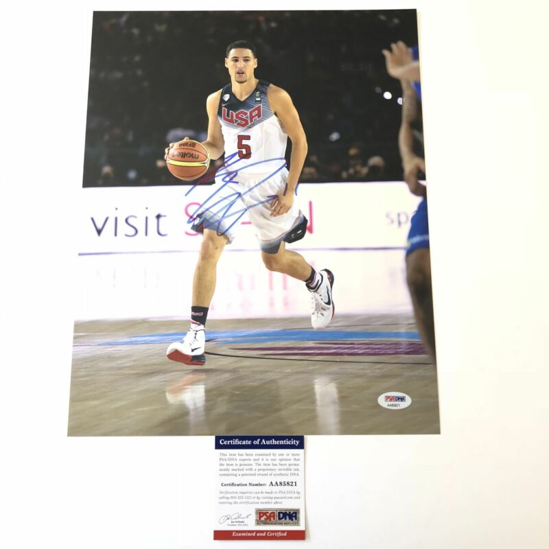 get cheap d7fc0 5f300 Klay Thompson Autographs For Sale by RACC Trusted Sellers ...