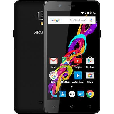 ARCHOS 50 Titanium 4G, Smartphone, 8 GB, 5 Zoll, Schwarz, LTE