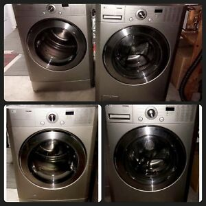 LG Tromm Front Load Washer & Dryer Set