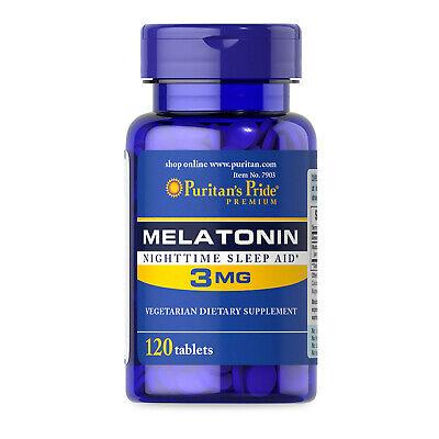 Extra Strength 3mg x120 Sleeping Pills Natural Sleep Aid BEST PRICE! UK P&P!🇬🇧