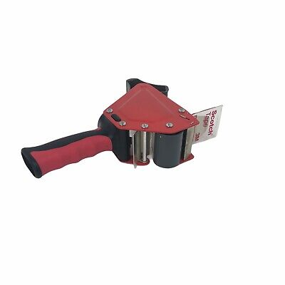 3m Scotch Tape Gun Dispenser 2 Packing Shipping Roll Ship Red Box Mail Package