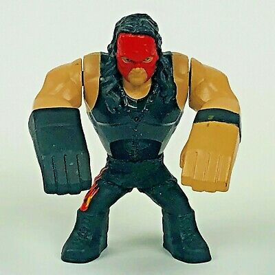 "WWE Rumblers Kane Mini 2.75"" Tall Wrestling Action Figure Mattel 2012 for sale  Shipping to India"