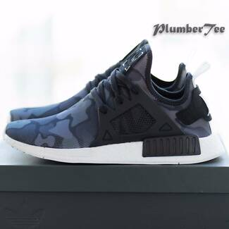 W US 7.5 | 8 Brand New Adidas Original NMD XR1 Camo Core Black