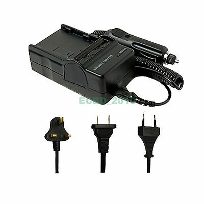 Battery AC/DC Charger for Sony DCR-DVD110E DVD202E DVD505E DCR-HC18E DCR-DVD103