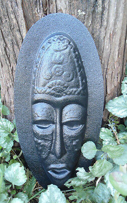 Tiki face abs plastic mold mould garden casting tropical mold