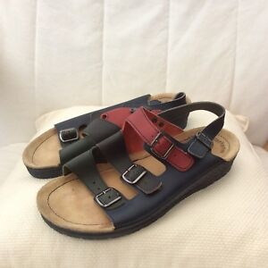 LADIES ROHDE LEATHER SANDALS SHOES SIZE 6 / 39 LOVELY