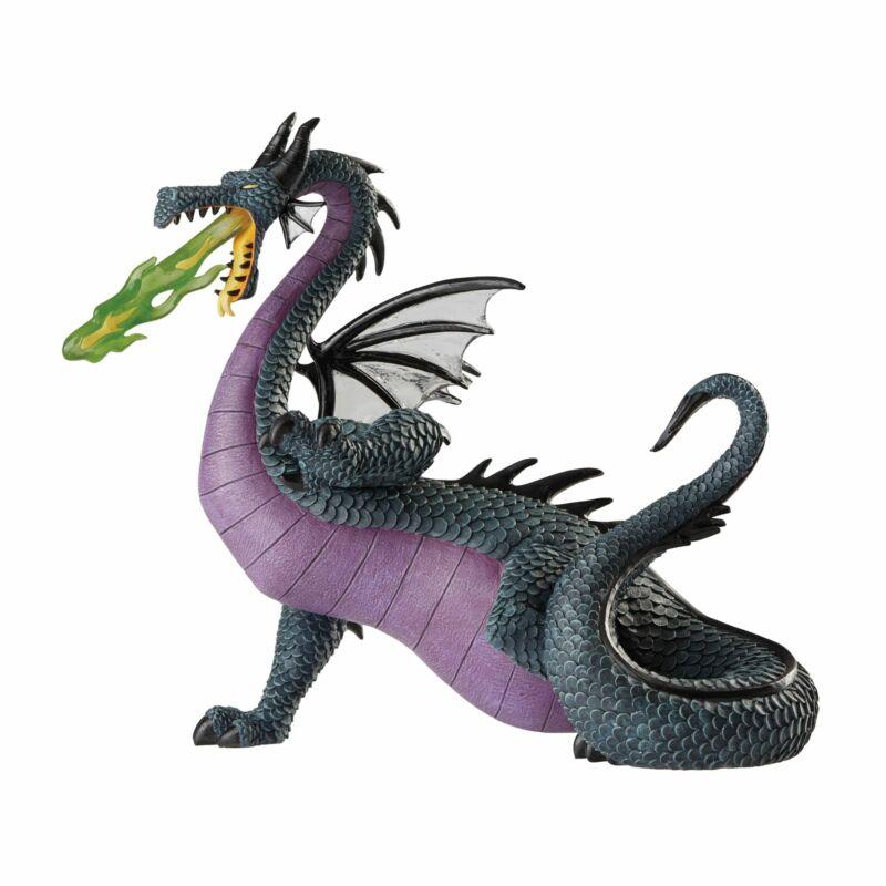 Enesco Disney Showcase Sleeping Beauty Maleficent Dragon Figurine 7.95 Inch