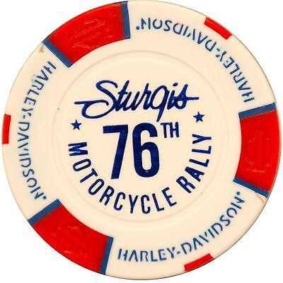 2016 Sturgis Harley-Davidson® 76th Motorcycle Rally Poker Chip Black Hills