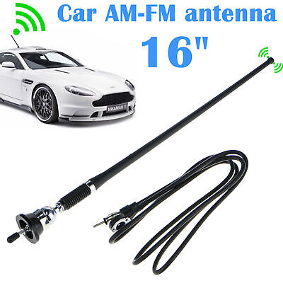 16 Universal Mount Swivel Base Car Radio AMFM Amplified Signal Aerial Antenna