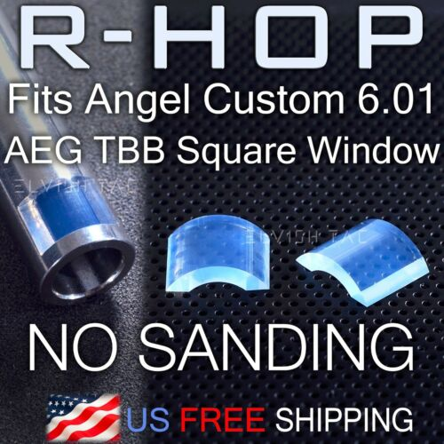 RHOP Fit Angle Custom 6.01 AEG TBB Square Window Airsoft Barrel NO Sanding R-Hop