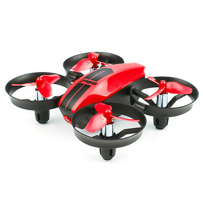 RED UDI U46 Mini RC Drone 2.4Ghz 4CH Quadcopter Headless Condition for Beginners Kids