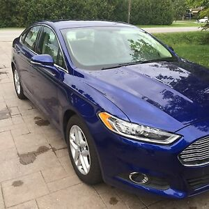 2016 Ford Fusion SE eco boost 30k leather alloys rear cam