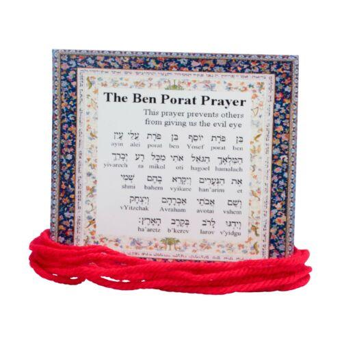 10 ORIGINAL Kabbalah Red String Bracelet against Evil Eye Lucky Charm Protection