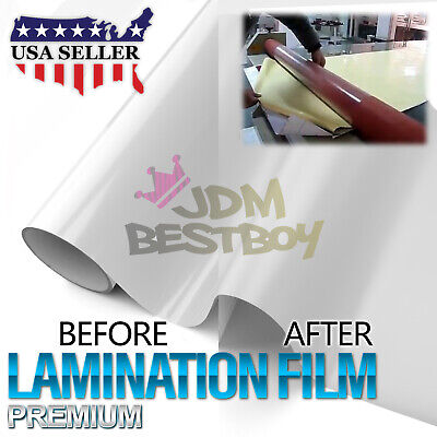 36x60 Cold Laminating Film Matte Clear Monomeric Lamination Poster Sign Decal