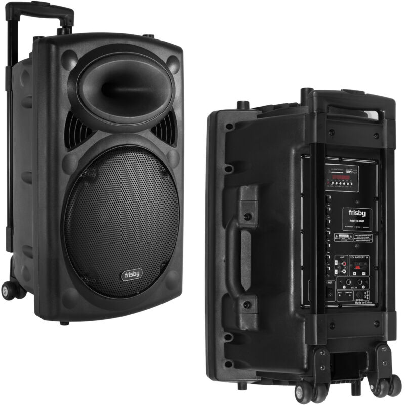 Frisby FS-4050P Portable Rechargeable Bluetooth Karaoke Machine PA Speaker