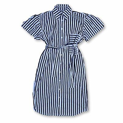House Of Sunny Women's Midi Dress Size UK 10 Colour:  Black  *