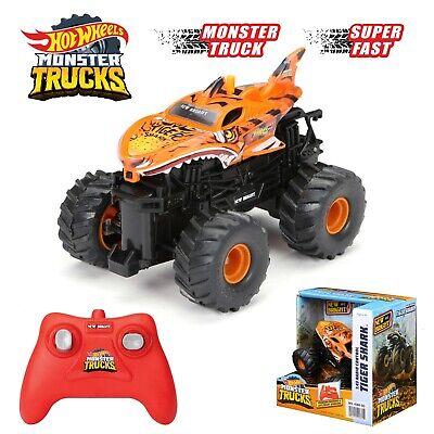 "Hot Wheels 1:43 Monster Trucks 2.4HGz Radio Control ""Tiger Shark""Free Ship"