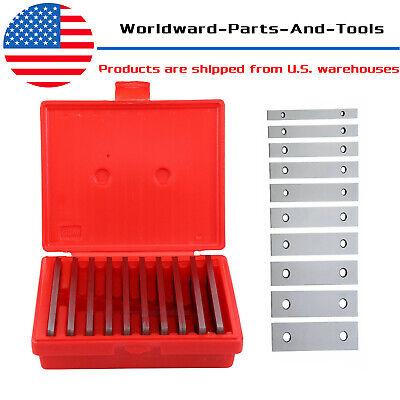20pcs Thin Parallel 18 X 6 Jig Block Bar Tool Set Machinist Machine Shop