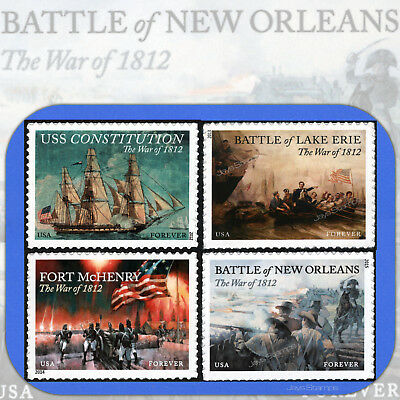 2012-2015  THE WAR of 1812  COMPLETE  Forever® Stamp SET  # 4703-4805-4921-4952
