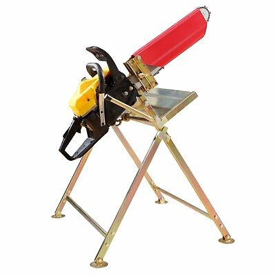 Universal Holz Sägebock Kettensägebock Sägehilfe für Elektro &Benzin Kettensäge