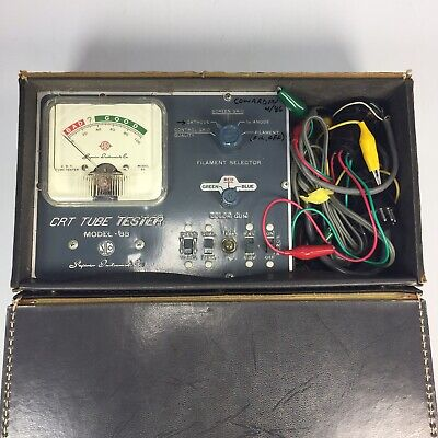 Superior Instruments Sico Crt Tube Tester 83a Untested In Case