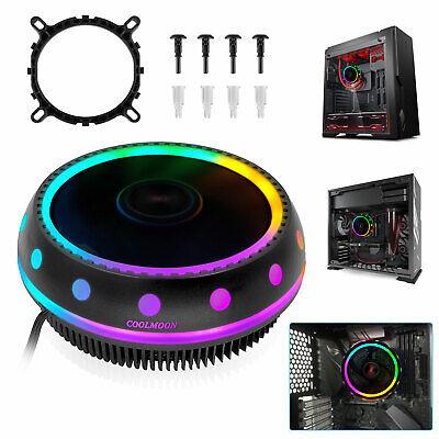 RGB 3Pin LED CPU Cooler Fan Heatsink  for Intel 1156/1155/11