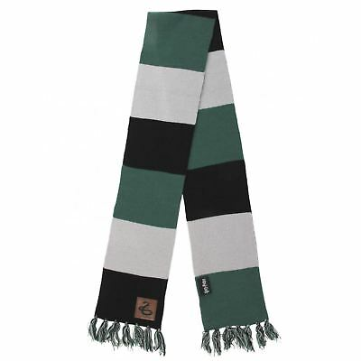 (Official Harry Potter Slytherin Green Striped Scarf Malfoy Costume Accessory)