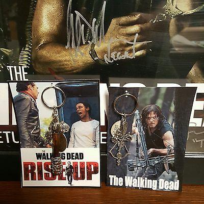 Rise Up Daryl Dixon Collectors Negan Lucille Bat   Key Chain Set        New