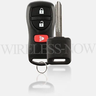 Car Keyless Entry Remote For 2004 2005 2006 2007 2008 2009 Nissan Quest + Key