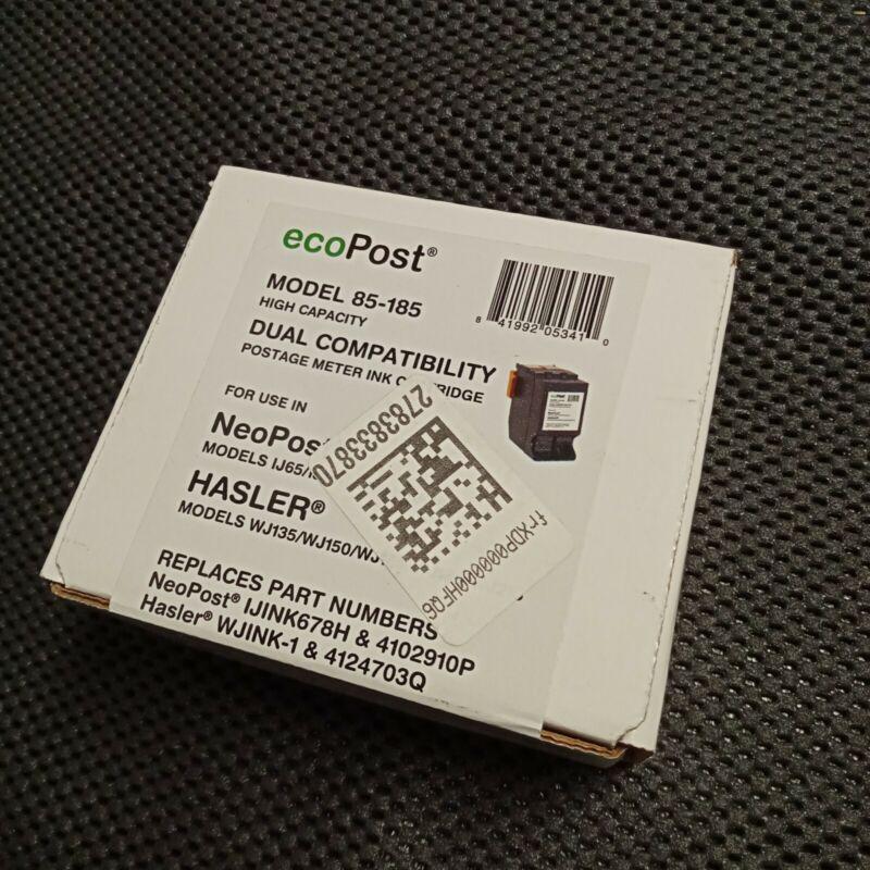 EcoPost High Capacity Postage Meter Ink Cartridge Model 85-185