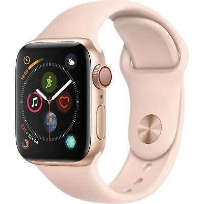 Apple iwatch series 4 (GPS+CELL.) 40 mm RoseGold with Warranty