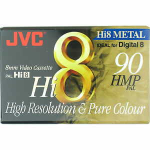 1-JVC-HMP-8mm-Hi8-Digital-8-Metal-Particle-Blank-Camcorder-Tape-Cassette-P5-90MP